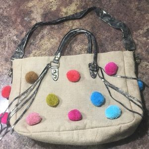 Large Daisy Fuentes Tote Bag